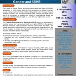 Short Course on Gender and SRHR at JPGSPH, BRAC University