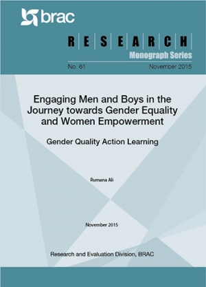 Engaging Men and Boys in the Journey towards Gender Equality and Women Empowerment: Gender Quality Action Learning