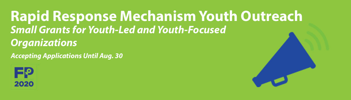 Small grant for youth-led and youth-focused organization