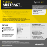 Call for abstract