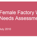 Health Assessment for Female Garment Workers