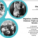 Migration, livelihood and Gender based violence: A triple case-study of young female migrants in Dhaka
