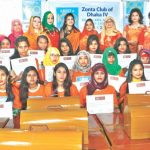 Twenty underprivileged girls receive sewing machines