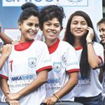 Empowering young girls through football