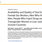 Availability and Quality of Size Estimations of Female Sex Workers, Men Who Have Sex with Men, People Who Inject Drugs and Transgender Women in Low- and Middle-income Countries