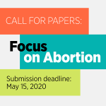 Guttmacher Institute is looking for submissions on abortion