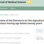 A narrative review of the literature on the reproductive health of female sex workers having age below twenty years