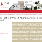 The Sexual Politics of Clinical Psychoanalysis and Transgender Mental Health