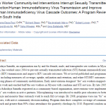 Sex Worker Community-led Interventions Interrupt STI/HIV Transmission and Improve Human Immunodeficiency Virus Cascade Outcomes: A Program Review from South India