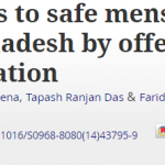 Increasing access to safe menstrual regulation services in Bangladesh by offering medical menstrual regulation