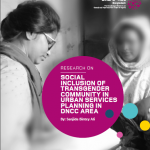 SOCIAL INCLUSION OF TRANSGENDER COMMUNITY IN URBAN SERVICES PLANNING IN DNCC AREA