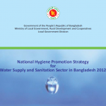 National Hygiene Promotion Strategy for Water Supply and Sanitation Sector in Bangladesh 2012