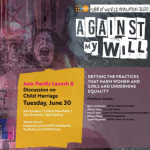 Asia Pacific Launch and Discussion on Child Marriage