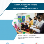 MOHFW's National Accreditation Guideline for Adolescent Friendly Health Service