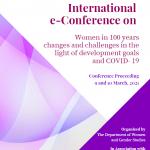 University of Dhaka organizes International E-conference on International Women's Day