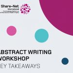 Key takeaways from the Abstract Writing Workshop